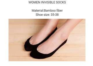 Women Invisble Socks (Bamboo Fiber)