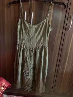 H&M Olive Mini dress