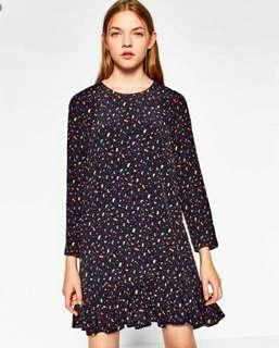 Zara Car Print Dress