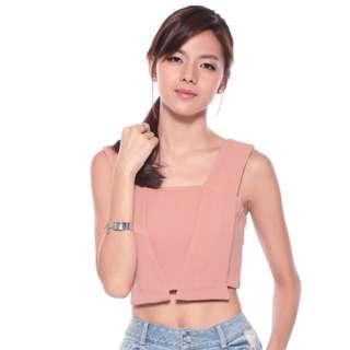 🚚 Love Bonito Caleigh Crop Top