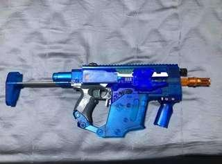 🚚 Nerf Clear Blue Vector Stryfe