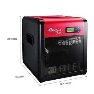 三緯XYZ專業級3D列印 da Vinci 1.0 Pro 3-in-1(含雷射頭) 便宜出清求現