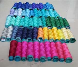 🚚 61支平車線 寶塔線 縫紉機線 縫衣線 車縫線 線