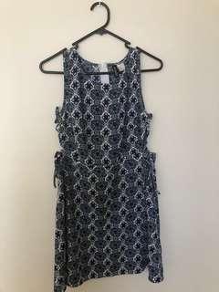 Blue dreamcatcher summer dress