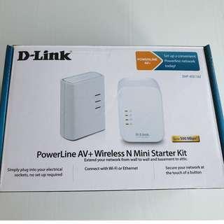 D-link Powerline AV + Wireless N mini starter kit