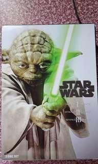 Star Wars 3 Disc Set