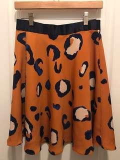 Philip Lim 3.1 for Target leopard skirt