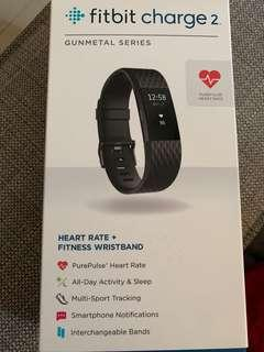🚚 Fitbit Charge 2 ( size L | Gunmetal series)
