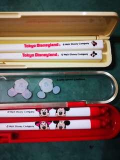 Disney Chopsticks 2 sets collectibles