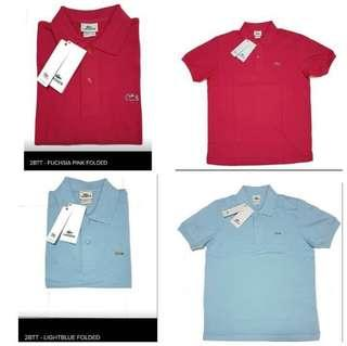 Lacoste Polo Shirts (ladies)