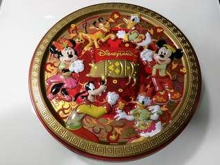 Disney CNY cookie tin (container only) 新年曲奇餅罐(空罐)