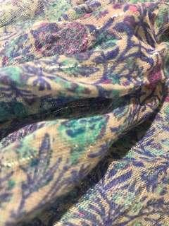 AMERICAN EAGLE Floral Infinity Scarf
