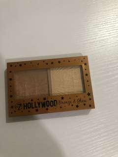 W7 Hollywood Bronze and Glow Palette