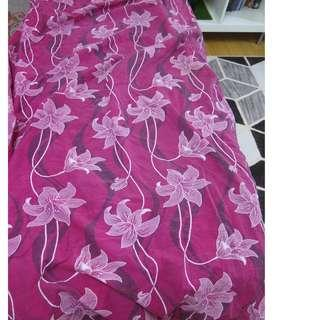 Cadar Single Bedsheet fitted (ada getah 4 penjuru)