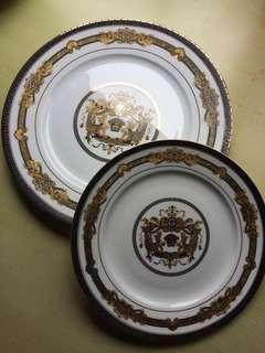 義大利versace梅度莎白餐盤組