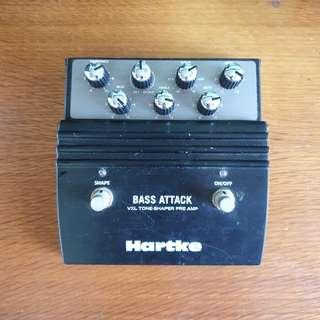 Hartke Bass Attack Pedal