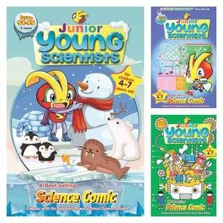 🚚 Junior Young Scientist for preschooler ( Brand New )
