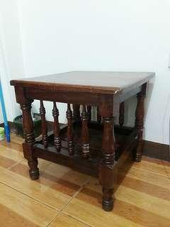 Narra Wood 1997 (22 Years) Antique Side Table