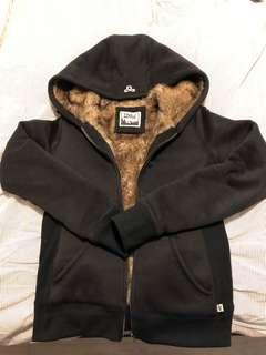 TNA Size Small faux fur lined hoodie