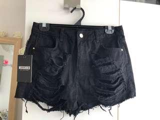 BNWT MISSGUIDED shorts