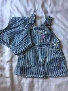 Brand New Osh Kosh B'gosh jumper dress