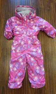 Waterproof Snow/ Ski Suit from Japan Used Once age 3-4