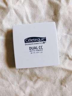 BRAND NEW Celeteque Dual CC Matte Powder