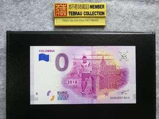 World Cup Euro €0 banknotes