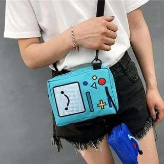 🚚 adventure time beemo sling bag