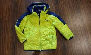 Waterproof PUMA Boy Jacket Size 120