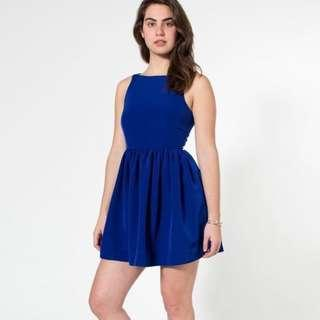 American apparel / blue dress buttons / Size S
