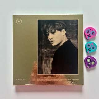 EXO Exodus Album Korean Version Kai Kim Jongin Cover