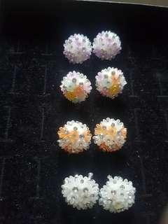 Cute ballet earrings