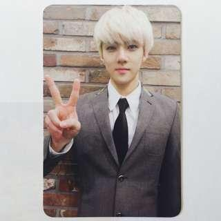 EXO XOXO Sehun Official Photocard