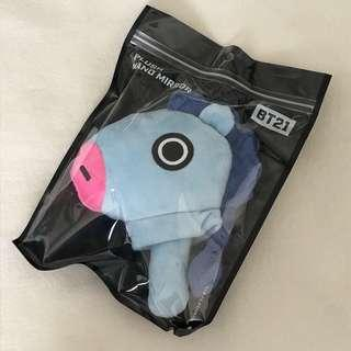 Official BT21 Mang Plush Hand Mirror