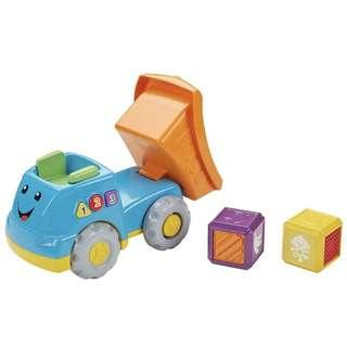 (In-Stock) Fisher-Price First Words Fill & Dump Truck Toy Playset (Brand New)