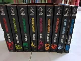 Alex rider mission complete sets