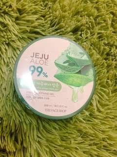 The Faceshop Jeju Aloe Fresh Soothing Gel (Tub) 300 ML