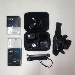 GoPro Hero 5 BK 連搖控及配件