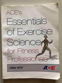 🚚 Book - ACE Essentials of Exercise Science for fitness professionals