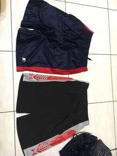 UA/star籃球褲