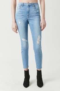 Forever 21 Sculpted Mid-Rise Skinny Jeans