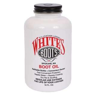 White's boot oil leather preservative work boot care 補品