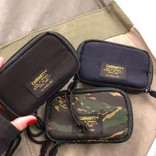 🚚 Carhartt WIP Military Wallet Small 手機 零錢 鑰匙 小包 黑*2 藍*2