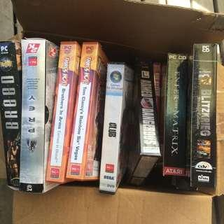 Free - clearing out all vintage Games