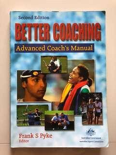 🚚 Book - Better Coaching, Advanced Coach Manual