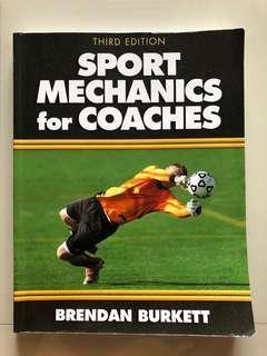 🚚 Book - Sport mechanics for coaches