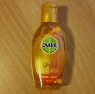 🚚 Dettol Gold Body Wash sample 50ml