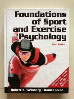 🚚 Book - Foundation of sport and exercise psychology