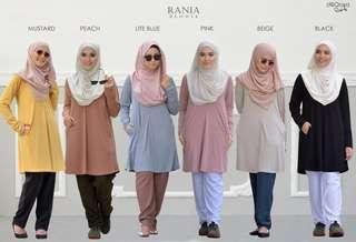 🚚 Rania Premium Basic Tee By Deqoya